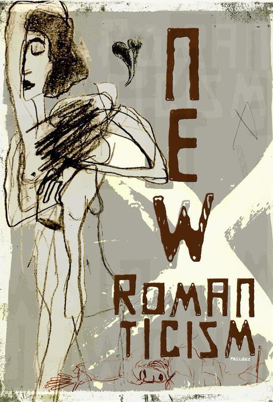 New Romanticism Aluminium Print