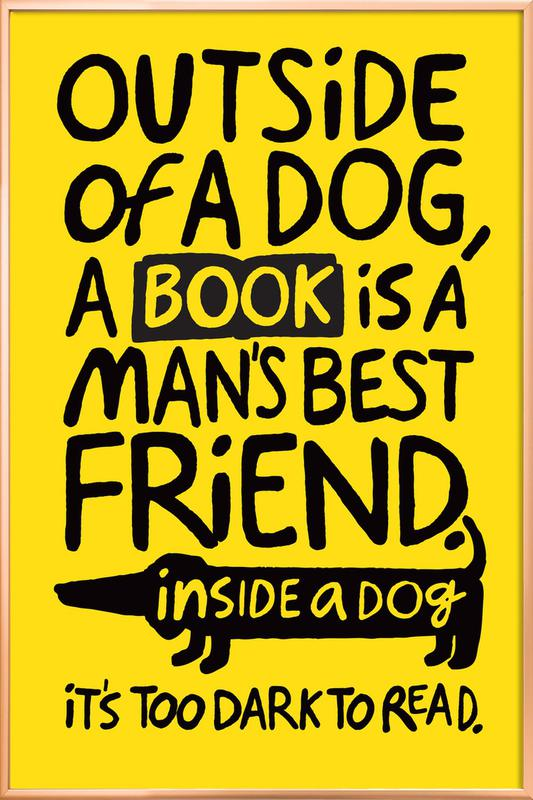Best Friends Poster in Aluminium Frame
