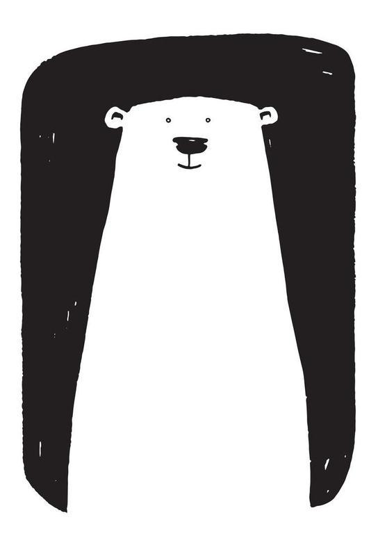 Bear Aluminium Print