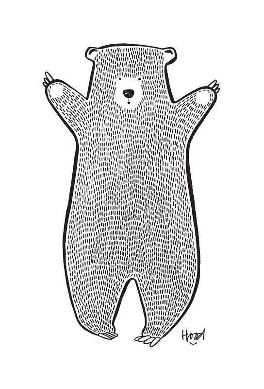 Bear 2 Acrylic Print