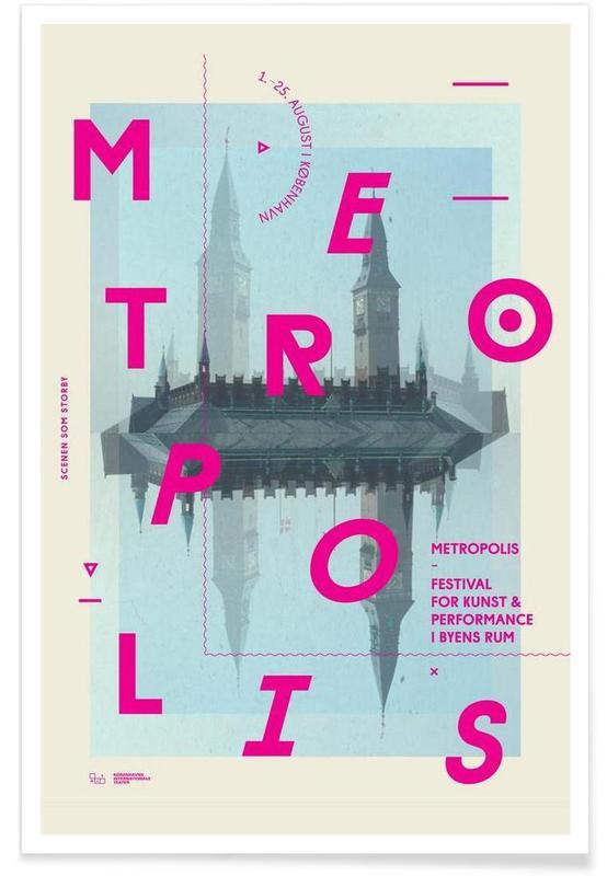 Alphabet et lettres, Metropolis1 affiche