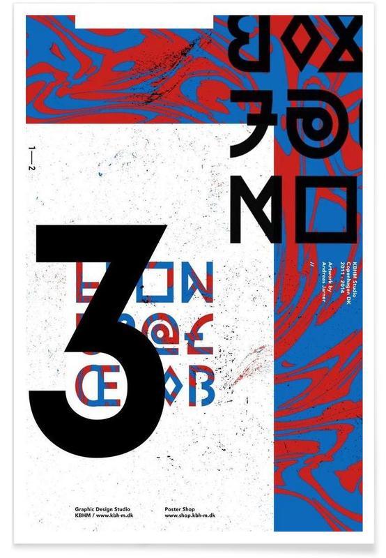 Alphabet et lettres, KBHM3YEARS 2 affiche