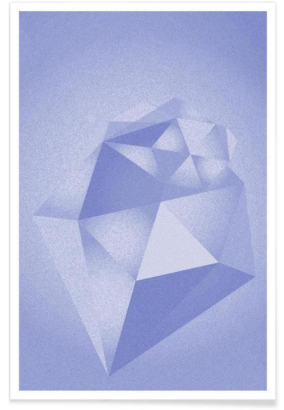 , Crystals Blue affiche