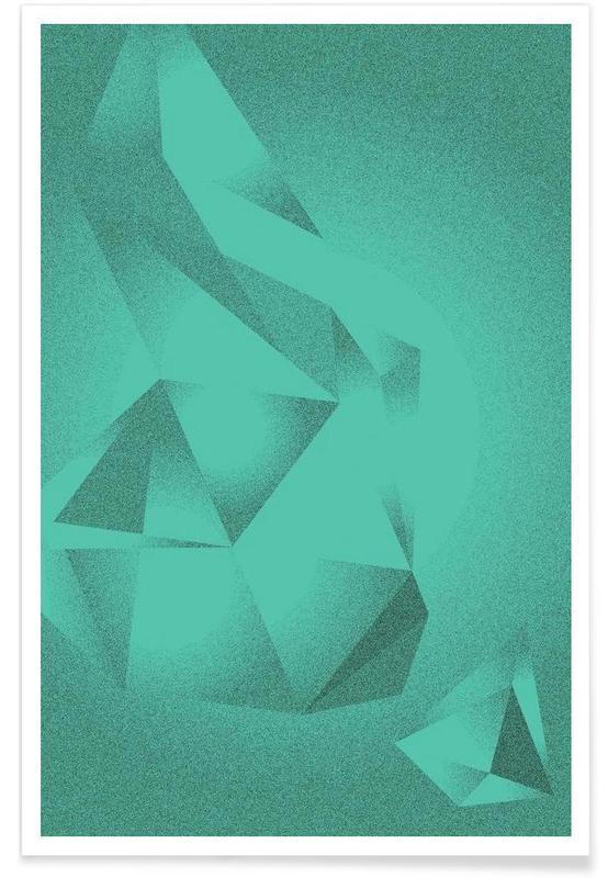 , Crystals Green affiche