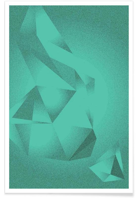 Crystals Green poster