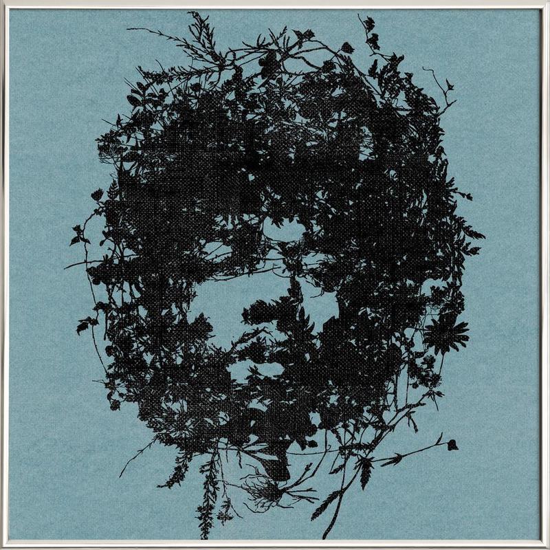 Jimi Poster in Aluminium Frame