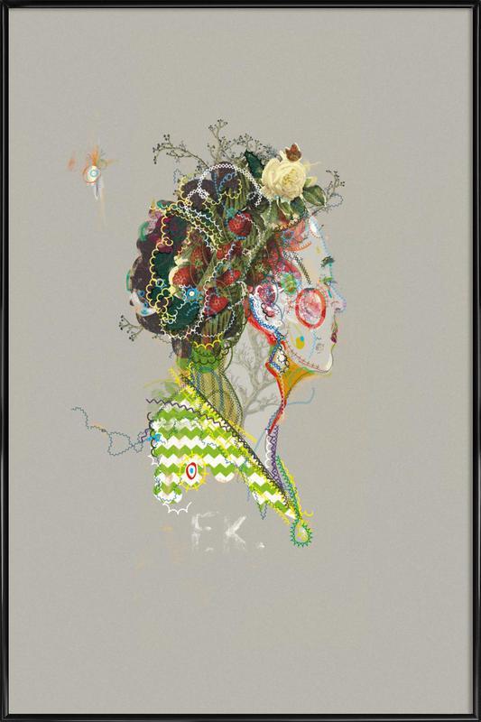 Frida 1 -Bild mit Kunststoffrahmen