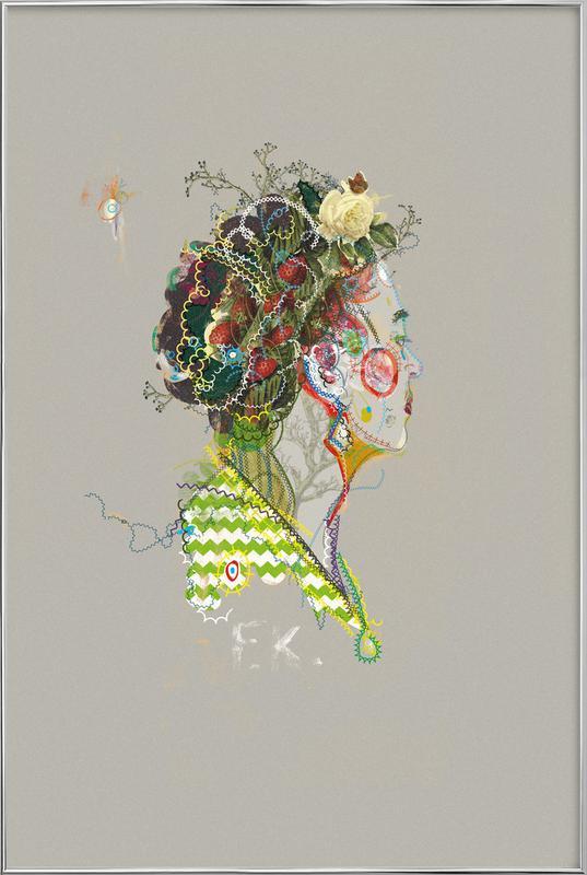 Frida 1 -Poster im Alurahmen