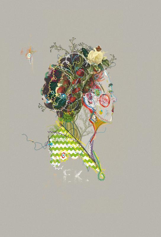 Frida 1 -Acrylglasbild