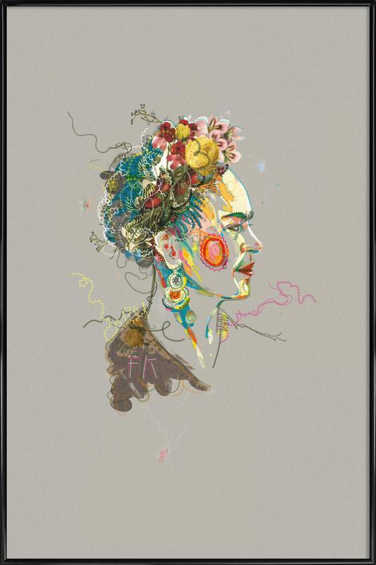 Frida 2 affiche encadrée