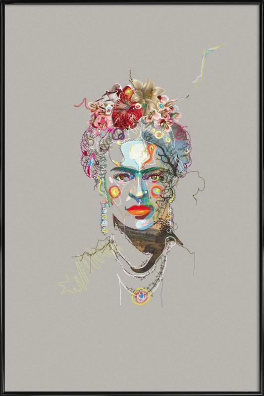 Frida 3 Framed Poster