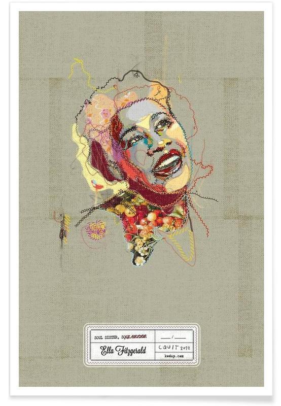 Ella Portrait affiche