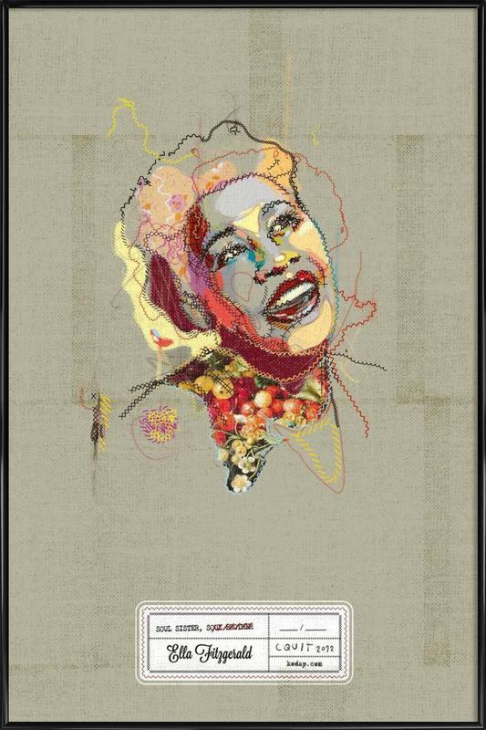 Ella Portrait Framed Poster