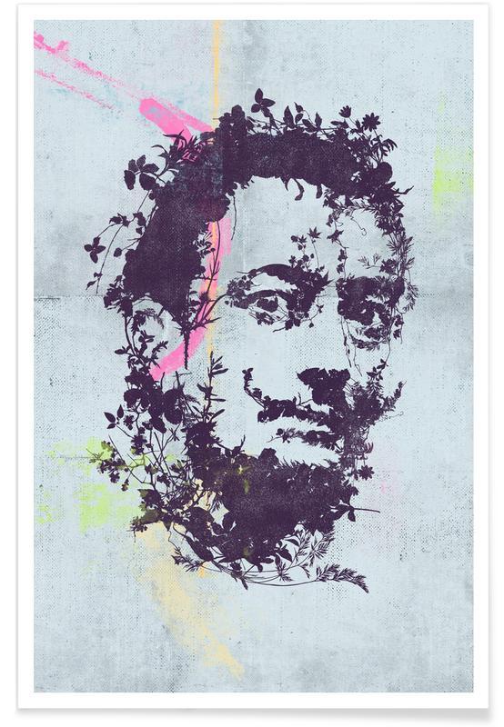 Salvador Dali, Portraits, Dali 1 affiche