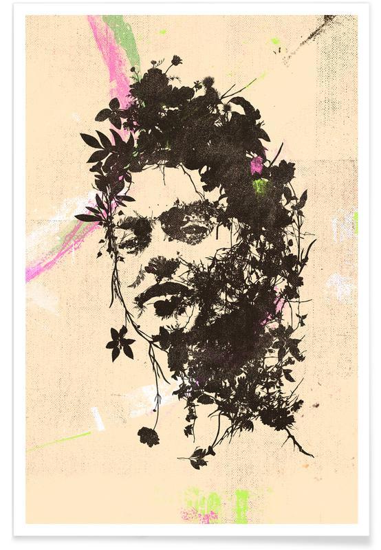 Frida Kahlo, Portraits, Frida 4 Poster