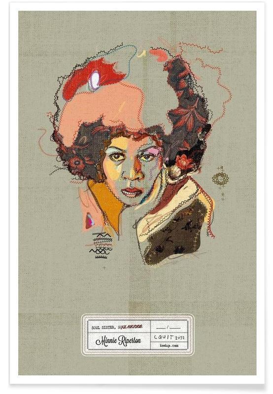 Jazz, Minnie Portrait affiche