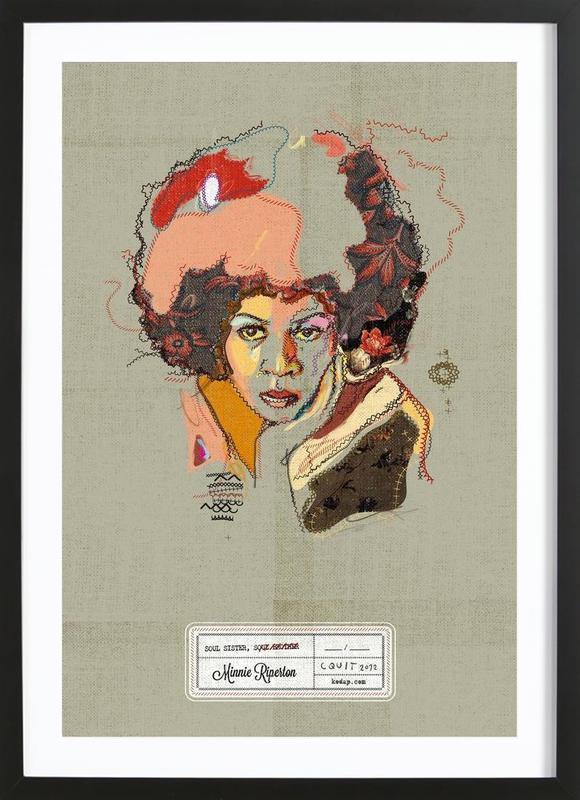 Minnie Portrait Framed Print