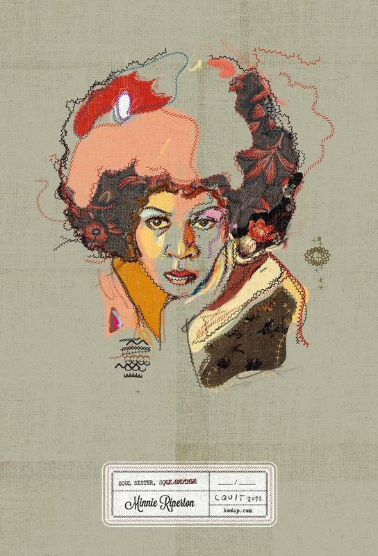Minnie Portrait -Acrylglasbild