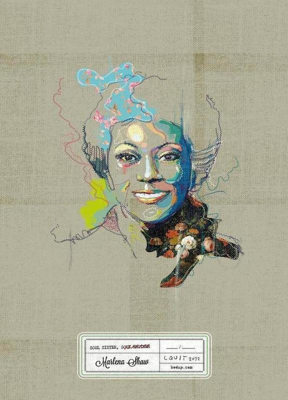 Marlena Portrait -Leinwandbild