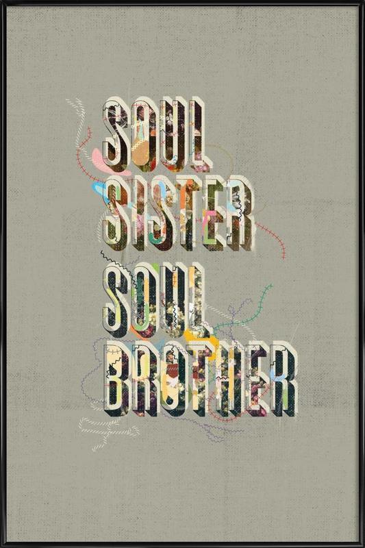 Gil Scott Portrait Framed Poster