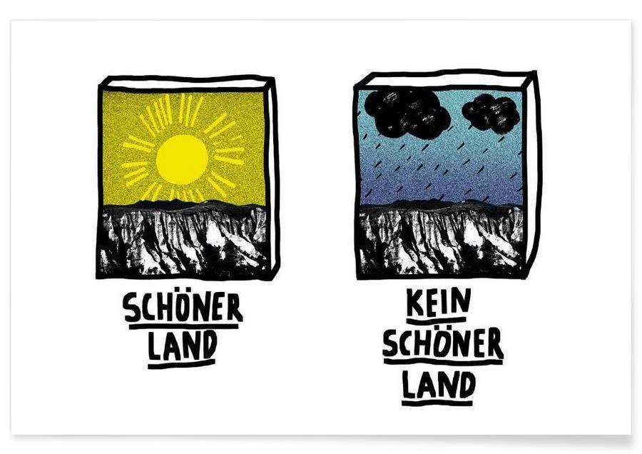 Humour, Schöner Land affiche