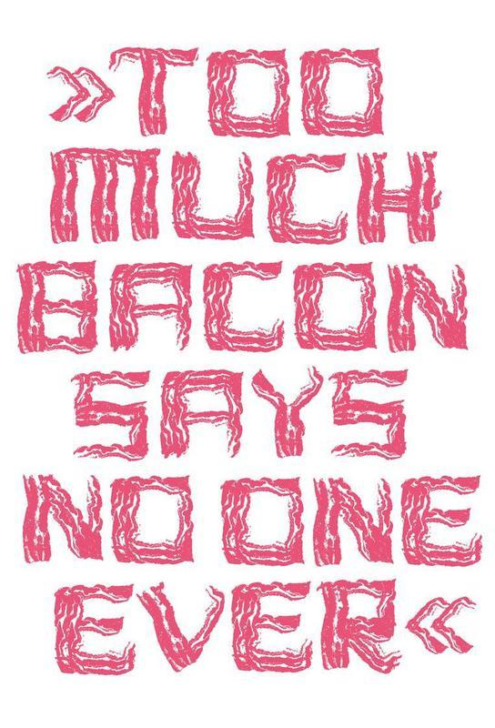 Bacon -Alubild