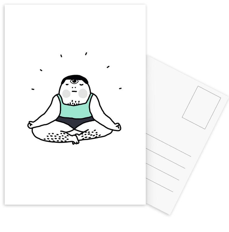 Zen Postcard Set