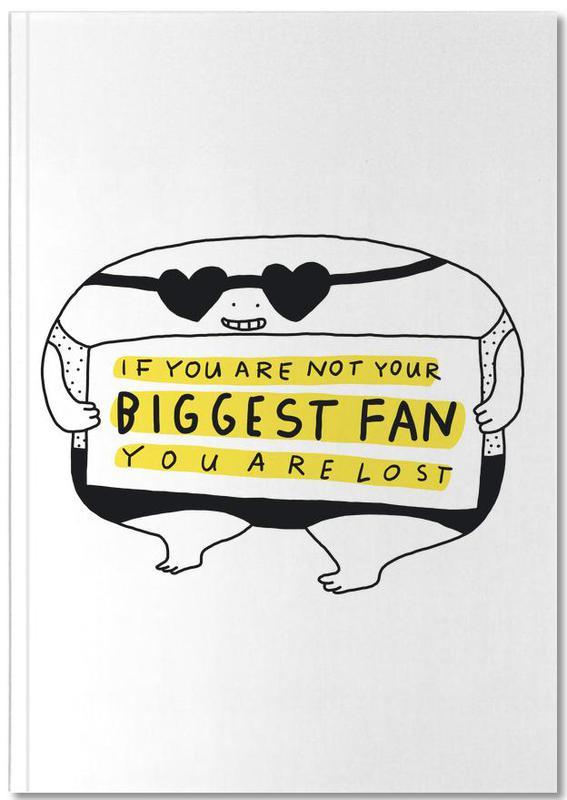 Humour, Motivation, Big Fan Notebook