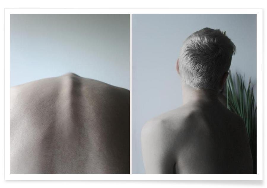 Détails corporels, Spine affiche