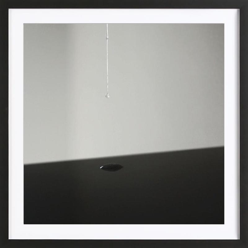 Liquid Framed Print