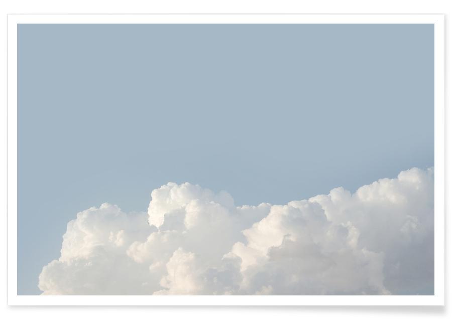Ciels & nuages, Cloud Sky Pastel affiche