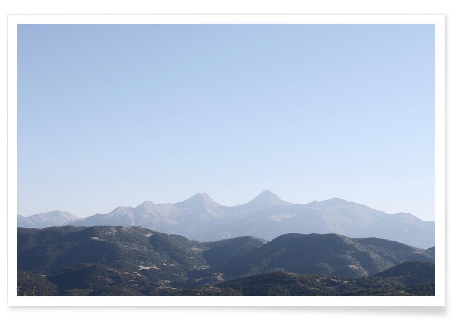 , Mountains 1 affiche