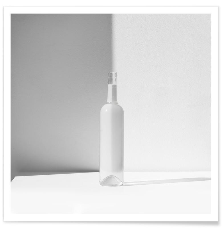 , Bottle Minimal affiche