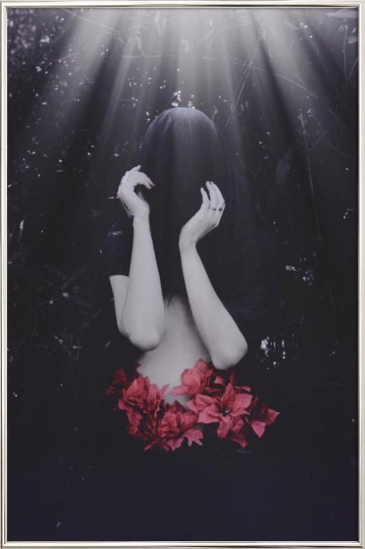 Markella -Poster im Alurahmen
