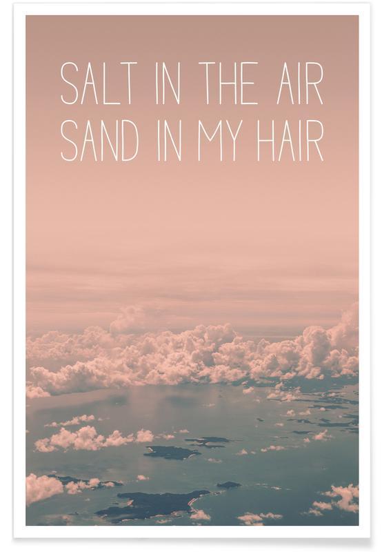 , Salt in The Air Sand in My Hair affiche