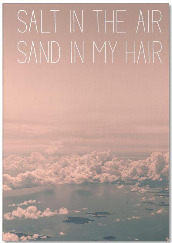 Salt in The Air Sand in My Hair Notepad