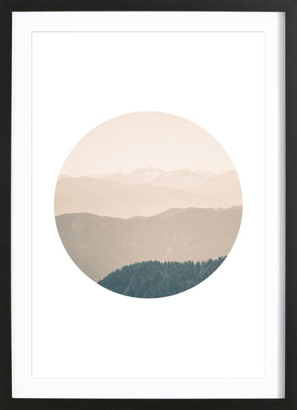 Circular 4 Karwendel ingelijste print