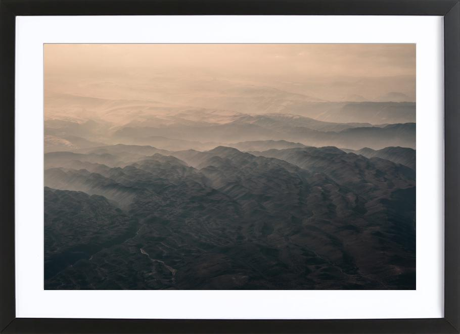 Raw 5 Andes Chile Framed Print