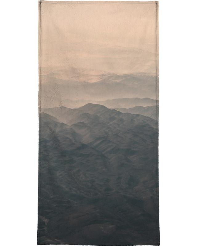 Raw 5 Andes Chile Bath Towel