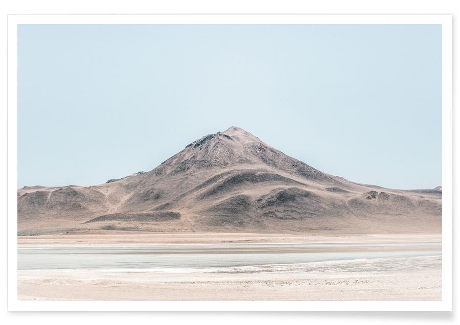Montagnes, Déserts, Salar de Uyuni en Bolivie - Photographie affiche
