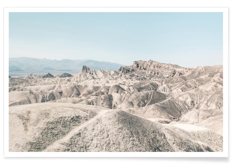 Golden Canyon USA Photograph Poster