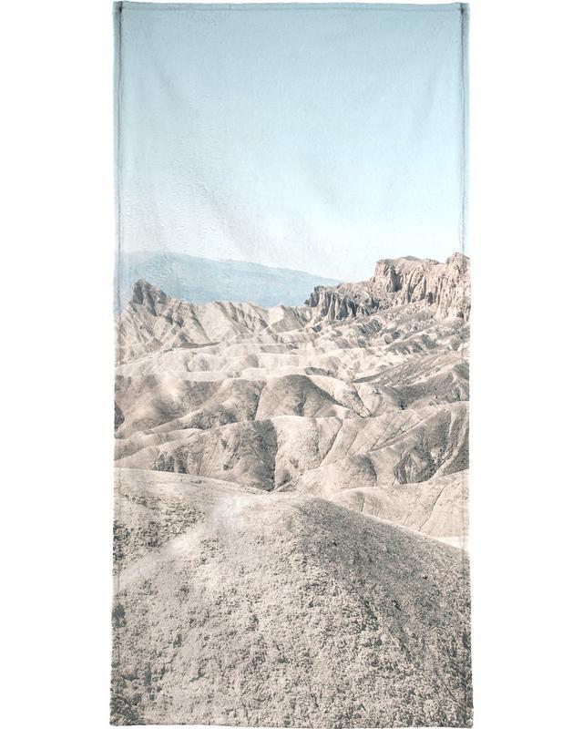 Raw 6 Golden Canyon USA Beach Towel