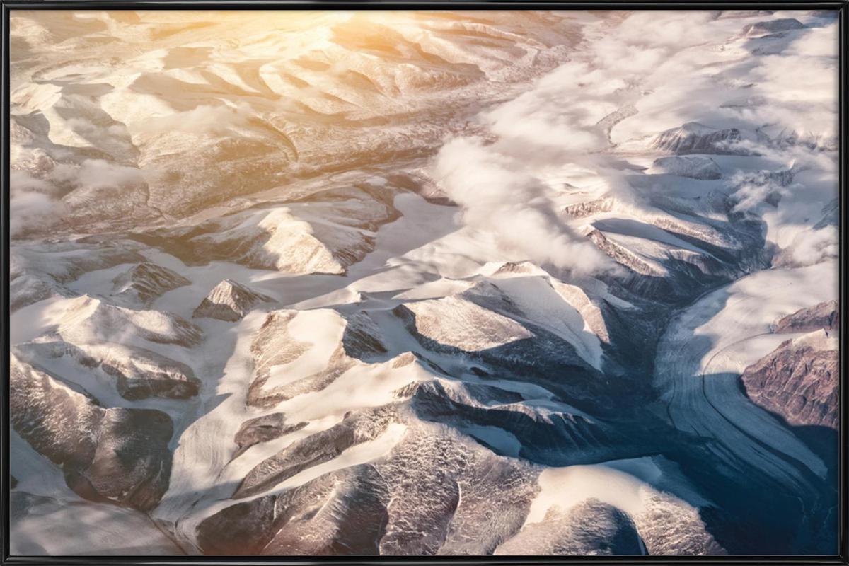 Raw 6 Nanortalik Greenland Framed Poster