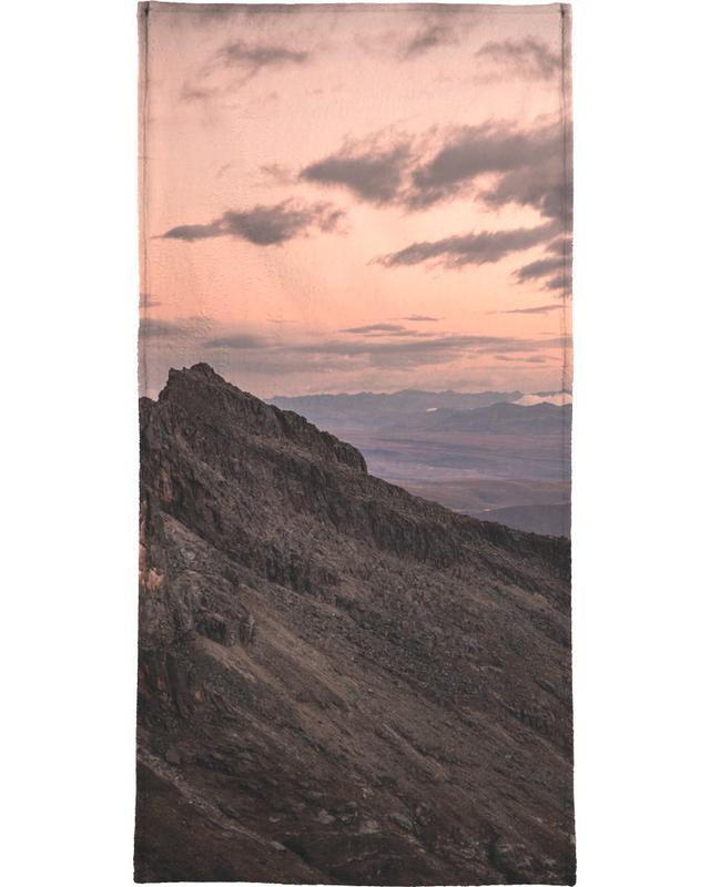 Raw 7 Huaraz Colombia Beach Towel