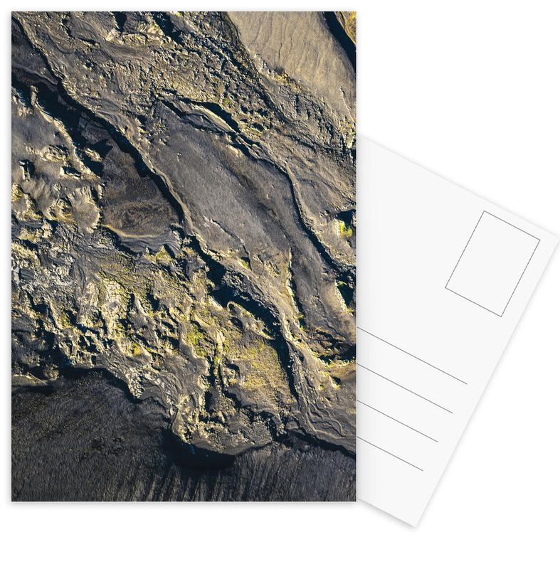 Raw 8 Lakagígar Iceland -Postkartenset