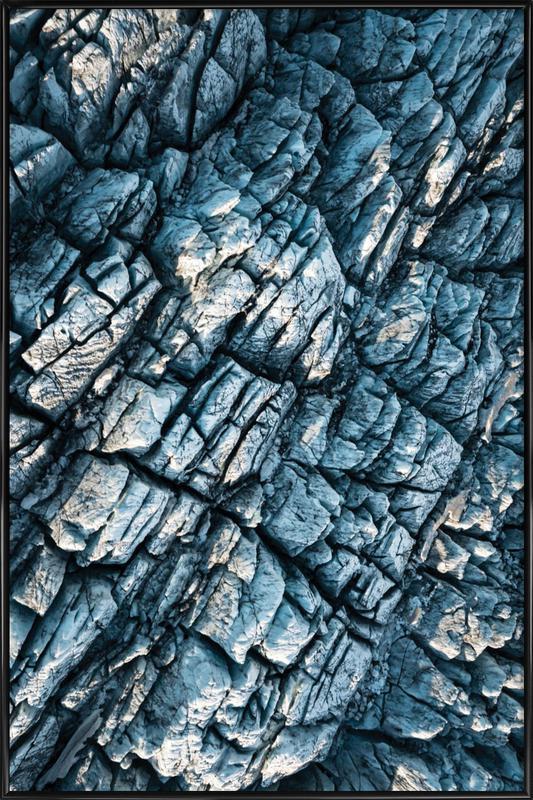 Raw 8 Mýrdalsjökull Iceland Framed Poster