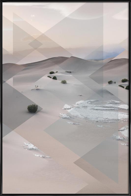 Scattered 3 Death Valley Framed Poster