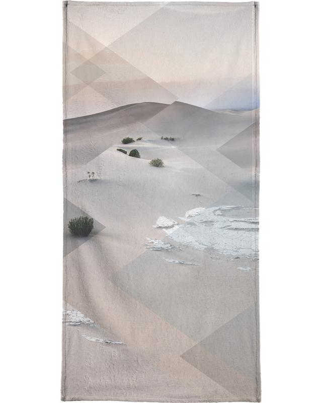 Scattered 3 Death Valley Beach Towel