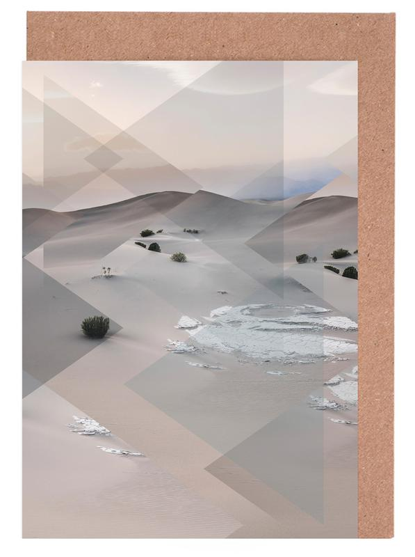 Scattered 3 Death Valley cartes de vœux