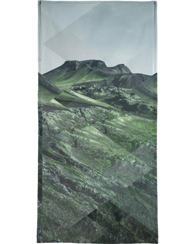 Mountains, Abstract Landscapes, Scattered 3 Thorsmörk Beach Towel